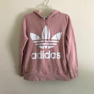 Adidas Trefoil Logo Hooded Sweatshirt M